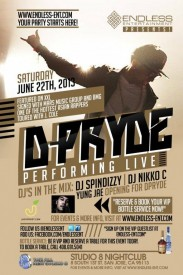 D-PRYDE PERFORMING LIVE OPENING YUNG JAE @ THE NEW STUDIO 8 - 6/22 ❖ENDLESS